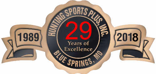 Hunting Sports Plus is celebrating their 29th anniversary in 2018!